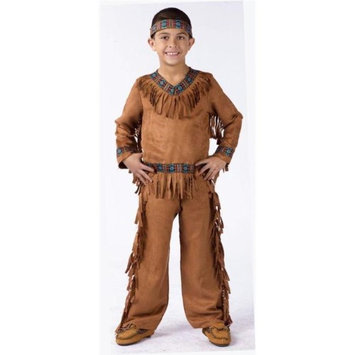 Costumes For All Occasions FW131022LG American Indian Boy Child Large