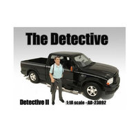 American Diorama 23892 The Detective No. 2 Figure for 1-18 Scale Models
