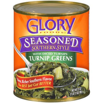 Glory 866 Seasoned Turnip Greens With Diced Turnips Case Of 12