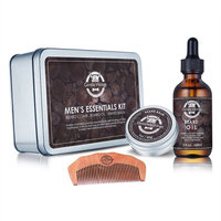 Gentle Vikings - Beard Shampoo for Men - Beard Wash - 6.25 OZ - Cleans and Conditions