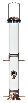Woodlink Copper Tube Feeder Copper 22 Inch