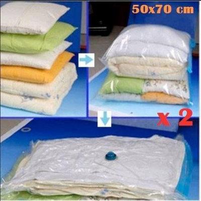 Felji Space Saver Bags Storage Bag Vacuum Seal Organizer Size Small 2 Pack