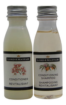 Lord and Mayfair Apple & Wicker Conditioning Shampoo & Conditioner Lot of 16 (8 of each) 1oz Bottles.
