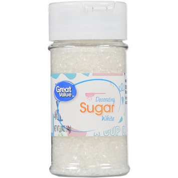Wal-mart Stores, Inc. Great Value White Decorating Sugar, 3.5 oz