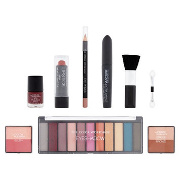 The Color Workshop Get The Look: Sparkle Eyes Makeup Collection, 21 piece