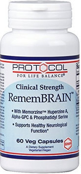 RememBRAIN 60 vcaps by Protocol For Life Balance