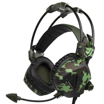 AutumnFall SADES SA931 3.5mm Stereo Wired Surround Gaming Headset Headband Mic Headphone