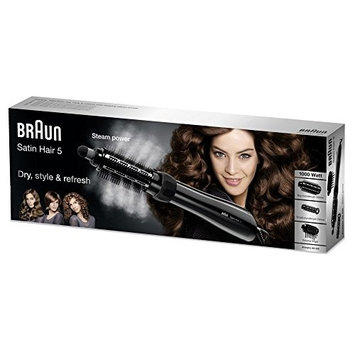Braun Satin Hair 5 Airstyler AS 530, Black (220V not for use in the USA)