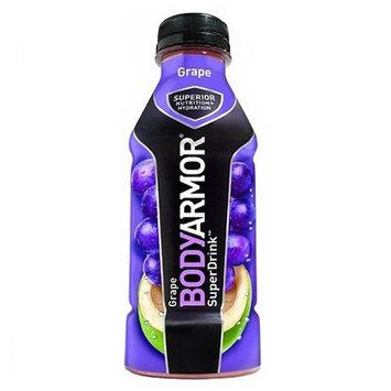 Body Armor Grape Sports Drink 16 oz Plastic Bottles - Pack of 12