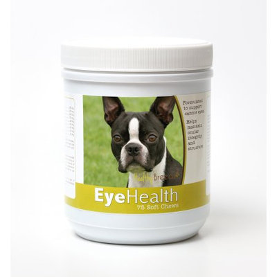 Healthy Breeds 840235145530 Boston Terrier Eye Health Soft Chews - 75 Count