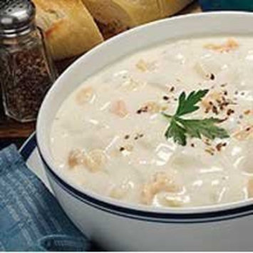 Blount Fine Foods New England Clam Chowder - 4 lb. package, 4 per case