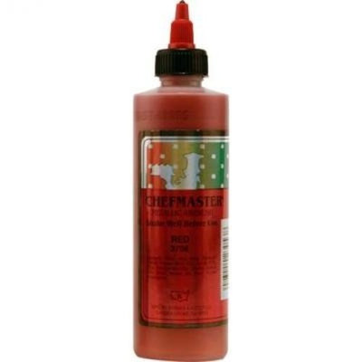 Chefmaster Airbrush Food Color, 9-Ounces, Metallic Red