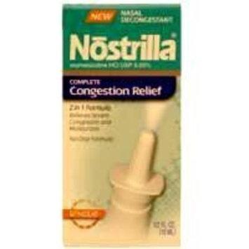 Nostrilla Nasal Spray To Relief of 12 hour Nasal Congestion - 0.5 Oz