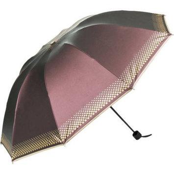 SumacLife Rainy/UV Travel Umbrella 44in (Light Purple Coffee)