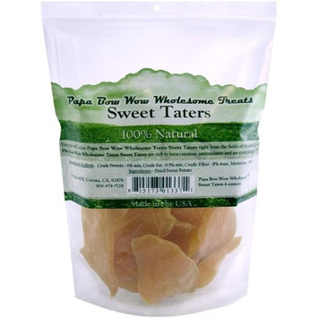 Cadet Papa Bow Wow Wholesome Treats Sweet Taters Dog Treats: 6 oz