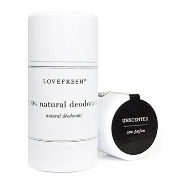 Lovefresh - All Natural Deodorant | Aluminum Free (Unscented)