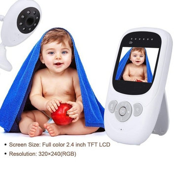 2.4GHz Wireless digi tal LCD Color Baby Monitor Camera Melody 2X Security~~