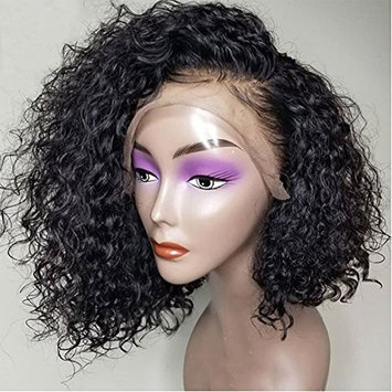 Thriving Hair Short Bob Lace Front Wigs for Black Women 8A Lace Front Human Hair Wigs Glueless Full Lace Human Hair Wigs with Baby Hair(8inch with 130% density, lace front wigs)