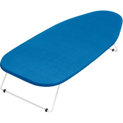 Whitmor Tabletop Ironing Board, Blue