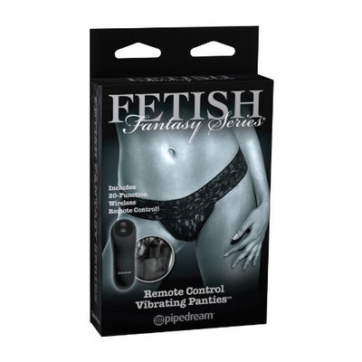 Pipedream Remote Control Vibrating Panties Regular Size, Black