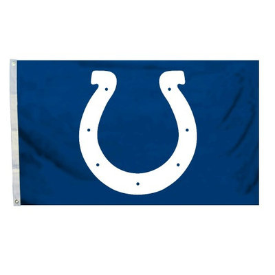 Fremont Die 94924B 3 Ft. X 5 Ft. Flag with Grommetts - Indianapolis Colts