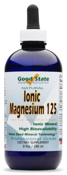 Good State Liquid Ionic Minerals Magnesium (96 Servings At 150 Mg Elemental - Plus 5 Mg Ionic Trace Minerals and 2 Mg Fulvic Acid) (8)