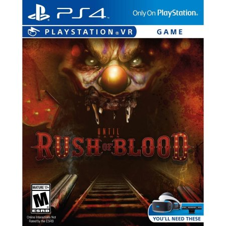 Sony Interactive Enterta Until Dawn: Rush Of Blood Playstation 4 [PS4]