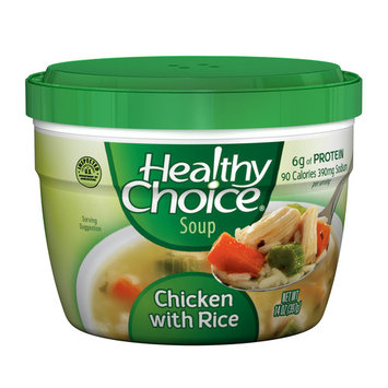 Healthy Choice Chicken With Rice Soup, 14 oz (12 Packs)