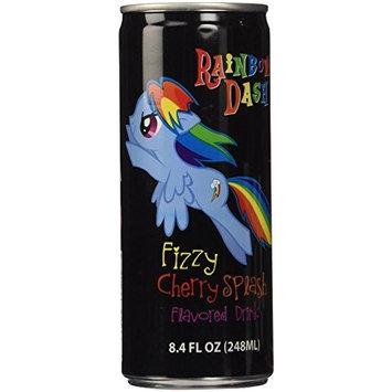 My Little Pony NonCaffeinated Flavored Drink Rainbow Dash Fizzy Cherry Splash (Cherry Splash, 2 Cans)