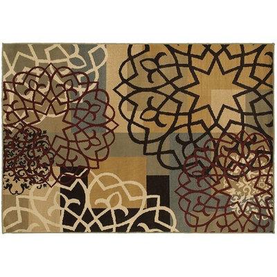 StyleHaven Grant Geometric Block & Floral Rug