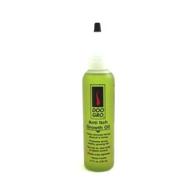 DOO GRO Anti-Itch Growth Oil, 4.5 oz (Pack of 6)