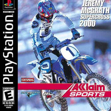 Acclaim Games McGrath Supercross 2000 PSX