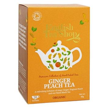 English Tea Shop - Organic Ginger Peach Tea - 20 Sachet(s)