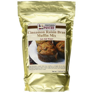The Prepared Pantry Dad's Best Raisin Bran Just-Add-Water Muffin Mix, 25 Ounce