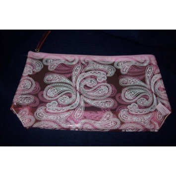 Pink Paisley Cosmetic Case