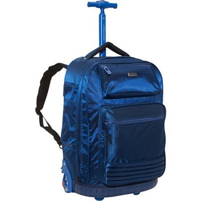 J World New York Parkway Rolling Backpack