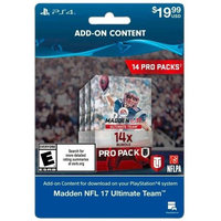 Incomm Madden 17 14 Pro Pack Sony