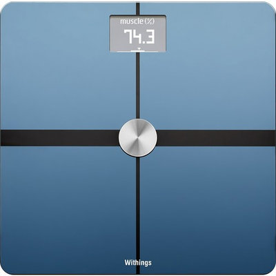 Withings - Body Composition Wi-Fi Smart Scale - Black