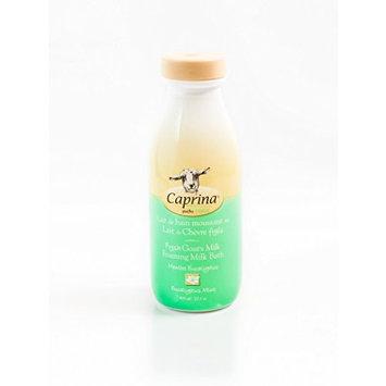 Caprina by Canus Fresh Goat's Milk Legendary Bubble Bath, Eucalyptus Mint, 27.1 Fluid Ounce [Eucalyptus Mint]