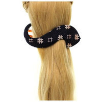 Annie Loto Studios Jewelry Navy S Clip Large Hair Accessory Style, 2.00 in. - 353A