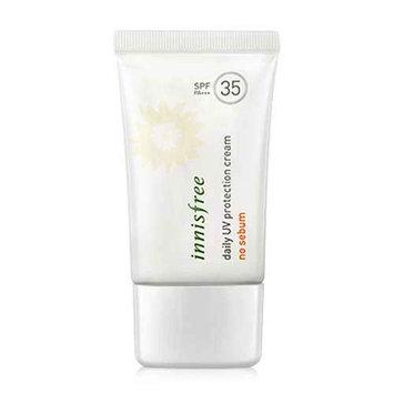 (3 Pack) INNISFREE Daily UV Protection Cream No Sebum SPF35 PA+++
