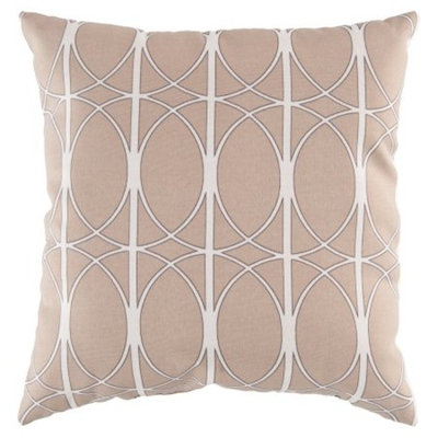Surya 18 x 18 in. Polyester Decorative Pillow