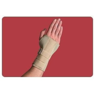 Thermoskin Carpal Tunnel Brace w/ Dorsal Stay-XL-Beige-L
