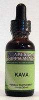 Kava No Chinese Ingredients American Supplements 1 oz Liquid