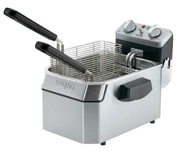 WARING COMMERCIAL WDF1550 Electric Deep Fryer,240V,15 Lb