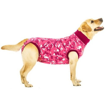 Suitical Recovery Suit for Dogs - Pink Camo