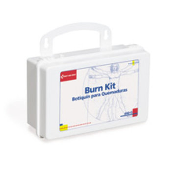 First Aid Only Burn Kit with 10 Unit Plastic Case