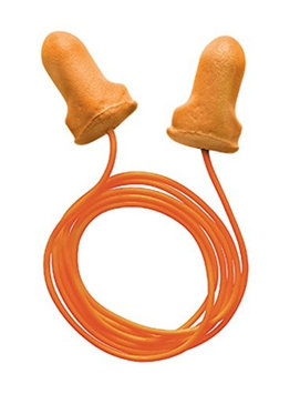Radnor Single Use T-Shaped Orange Polyurethane And Foam Corded Earplugs (100.