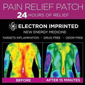 Luminas Pain Relief Patch (for Joint Pain, Back Pain, Hip Pain, Neck Pain, Headaches, Shoulder, Knee, Menstrual Cramps, Muscle Pain, Tendon Pain, Foot Pain, and Other Common Aches and Pains)