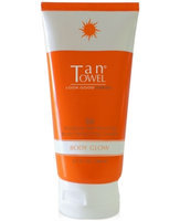 Tan Towel Body Glow - BB Gradual Self Tanning Body Perfecting Cream